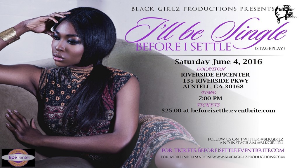 Black Girlz Production Flyer